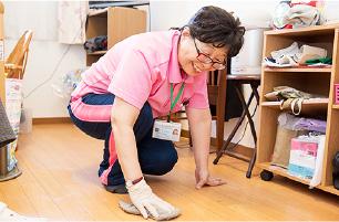 訪問介護として、掃除や洗濯、買い物などの生活援助も行っております。