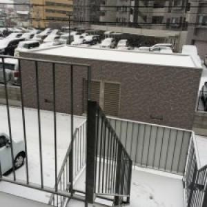 大雪~一面銀世界!