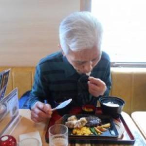 外食(鰻、ちゃんぽん、定食、ハンバーグ)
