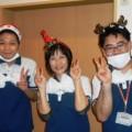 クリスマス忘年会時の職員風景(^^♪  (宝満ラポール原田)