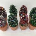 クリスマスツリー作り?
