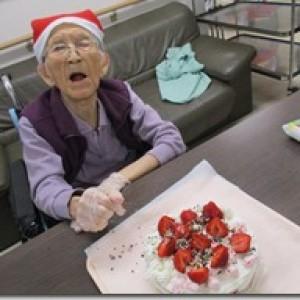 クリスマスケーキ作り!