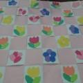 春の壁紙作り