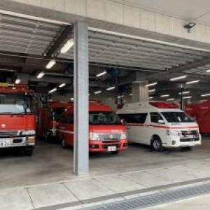 消防署見学に行きましたpart1