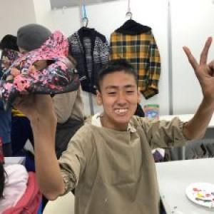 美術教室 第2回目『マスク制作』