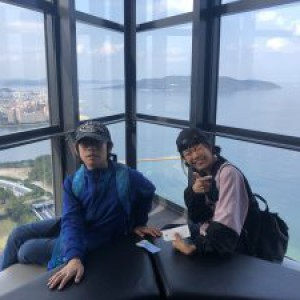 福岡タワーに行って来ました!