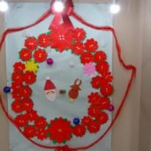 クリスマスの飾りつけ♪