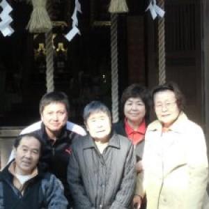 初詣(筑紫神社)