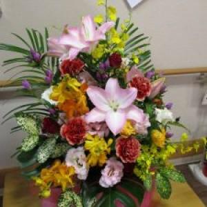 祝敬老~お花とともにバージョン~