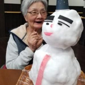 ☆銀世界&雪だるま☆