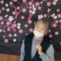 ☆夜桜を背景に☆